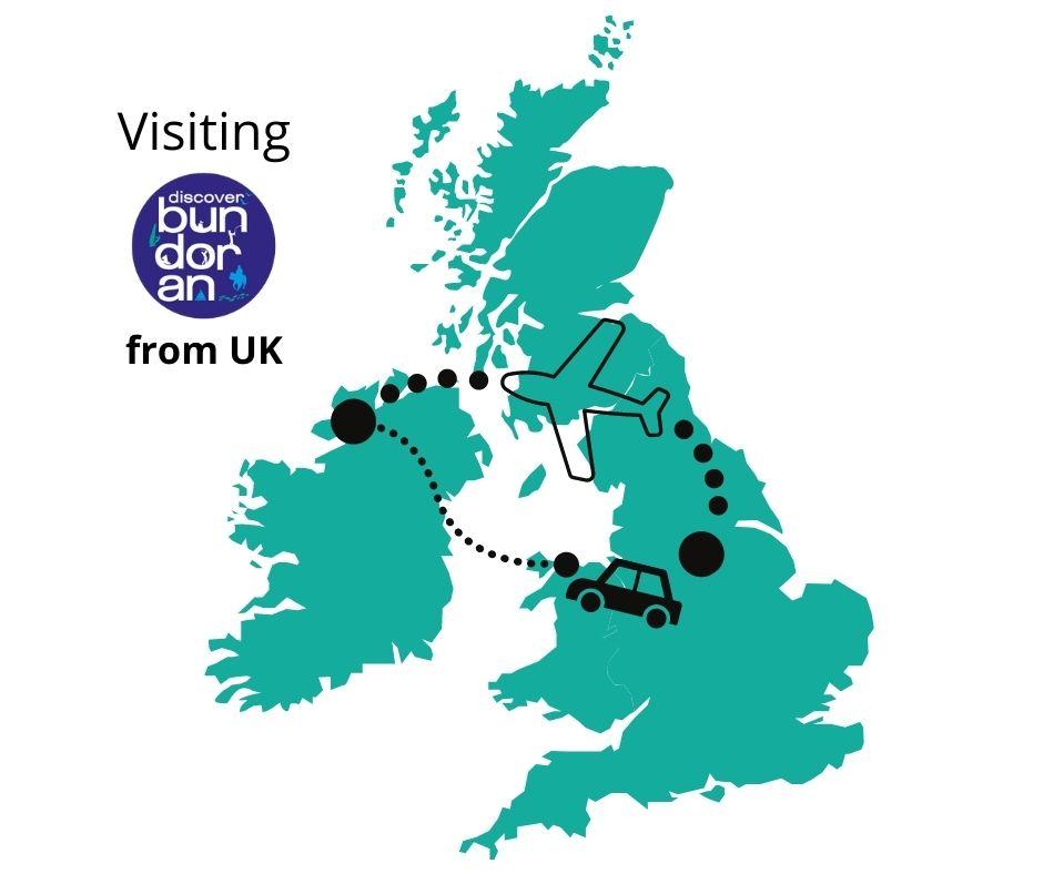visiting bundoran from uk