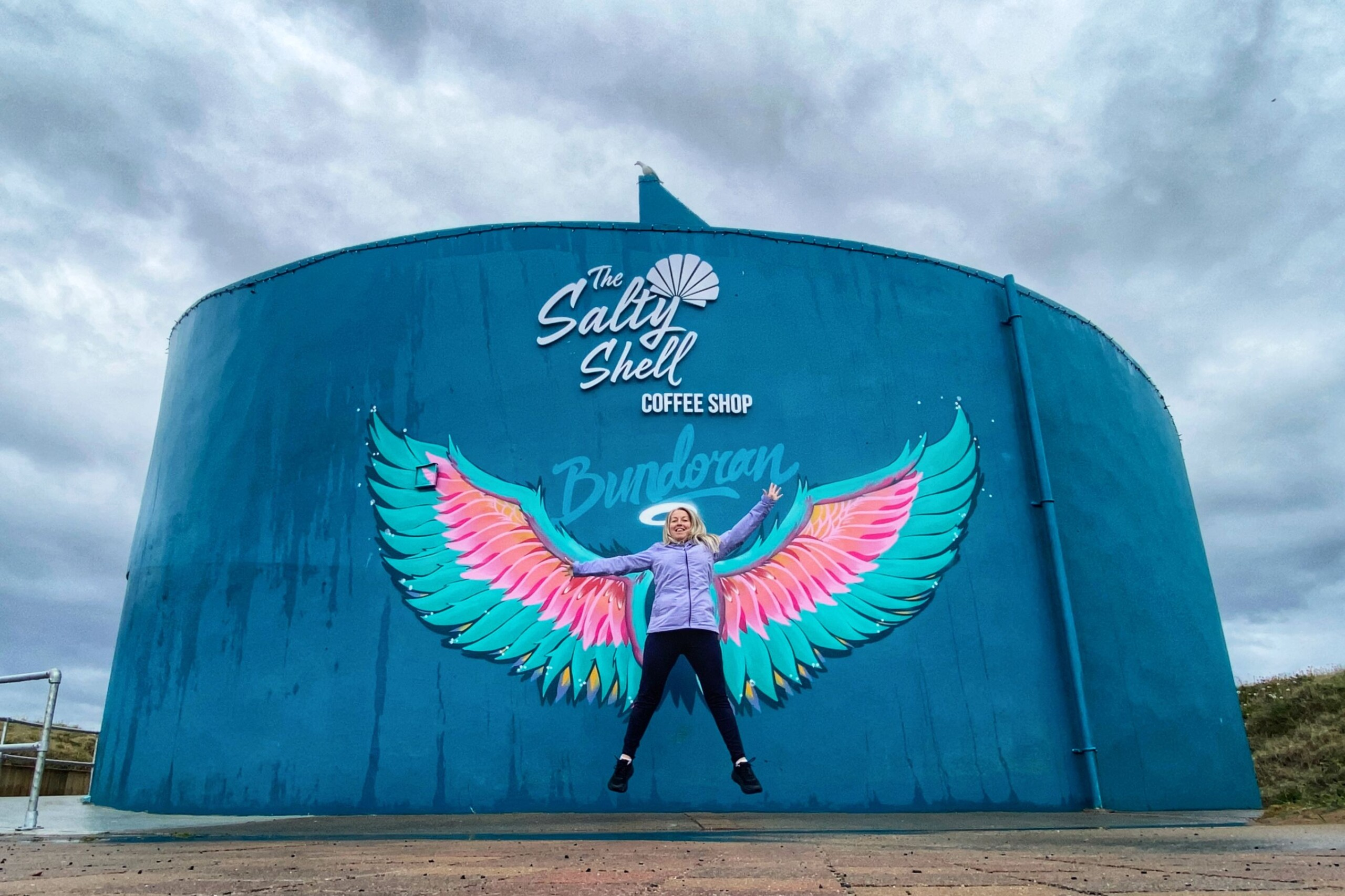 Angel Wings Bundoran Selfie Spot