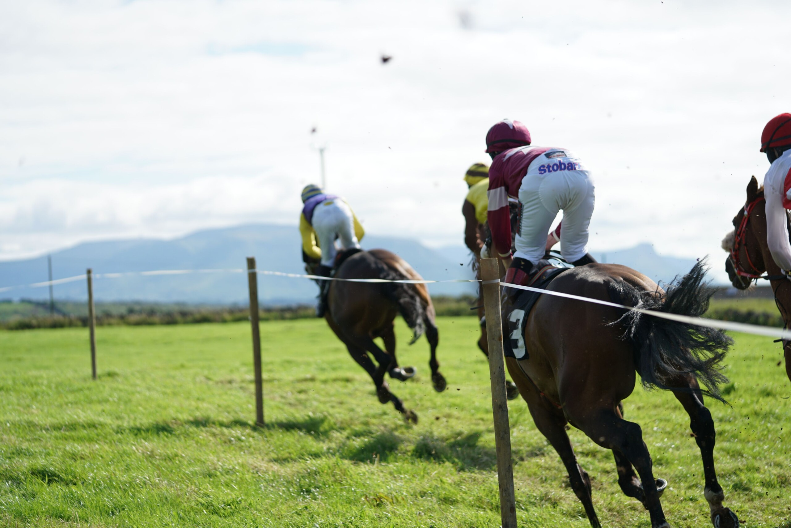 Horseracing returns to Finner